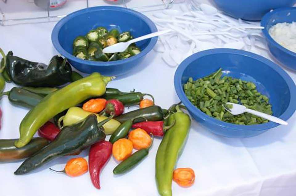 Kosher Chili Ingredients